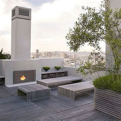 roof deck garden taking refuge in the city on a rooftop garden oasis