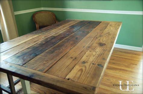 diy barn wood table top barn wood table tutorial elegance