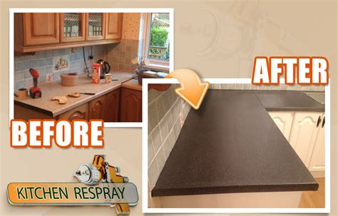 How To Refurbish Countertops by Kitchen Countertop Respray In Dublin Countertop Refinishing