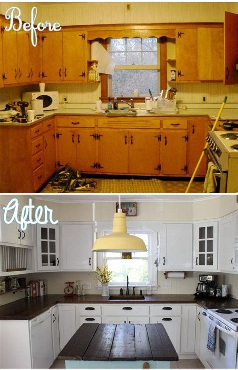 7 Amazing Inside Out Makeovers by Best 25 Before After Kitchen Ideas On