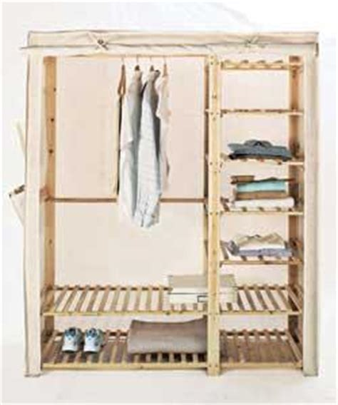 Wardrobe Made Of Cloth by Wooden Frame Fabric Wardrobe Review