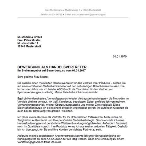 Anschreiben Verk Uferin Ungelernt bewerbungsschreiben handel vorlagen f 252 r die