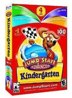 Pc Jump Start Kindergarten jumpstart advanced kindergarten pc jump start new on