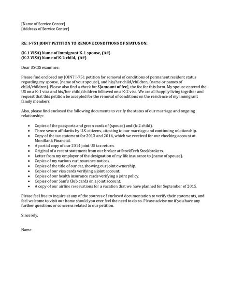 cover letter i 751 sle of request letter document sles review
