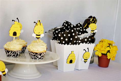 bumblebee baby shower party ideas photo 1 of 8 catch