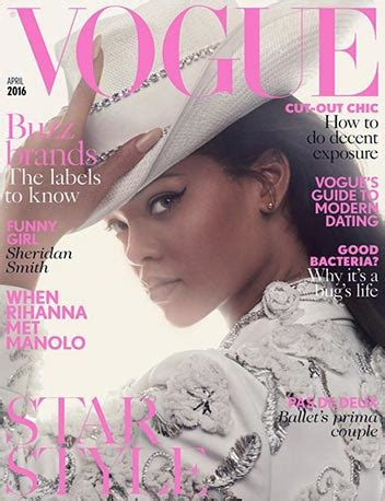 all rihanna's vogue magazine covers & photoshoots: british