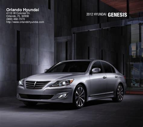Hyundai Dealers In Orlando by 2012 Hyundai Genesis For Sale Fl Hyundai Dealer Orlando