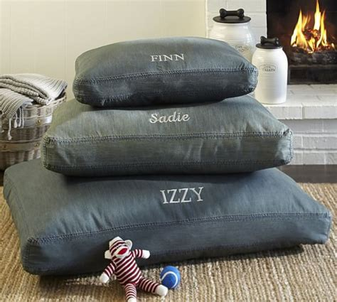 denim dog bed denim dog bed cover pottery barn