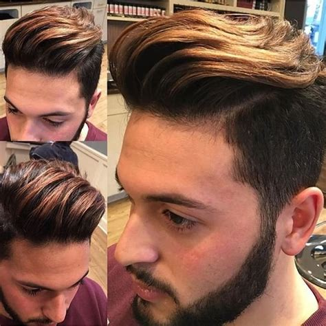 dyed hairstyles for brown hair hair color 20 new hair color ideas for men 2017