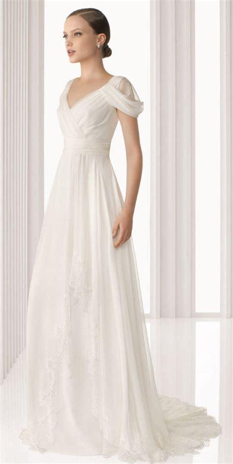 imagenes vestidos de novia para boda civil vestidos de novia sencillos largos para boda civil