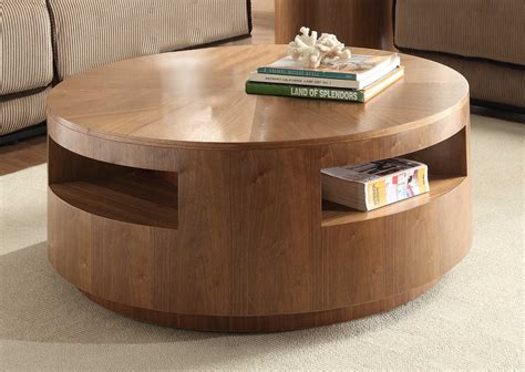 compact furniture the round coffee tables with storage the simple and