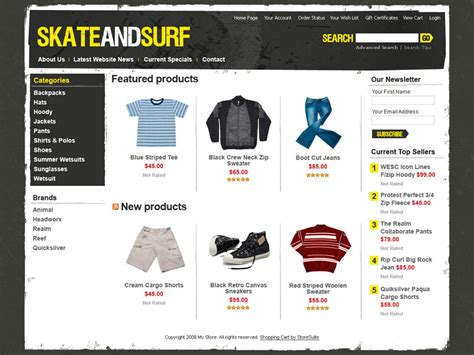 Customizable Ecommerce Templates Are Free Ecommerce Website Templates Free Html With Css