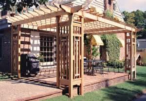 Patio Ideas With Pergola Backyard Pergola Ideas