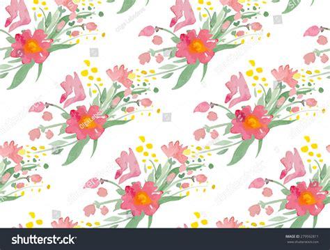 watercolor pattern illustrator free seamless pattern watercolor flowers illustrator swatch