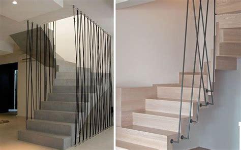 barandillas para escaleras interiores modernas decofilia pasamanos modernos para escaleras de