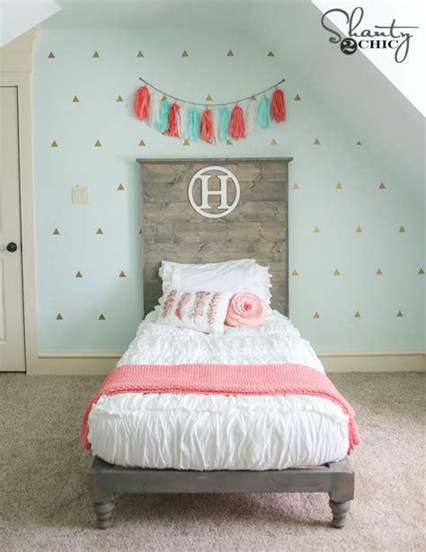 girls twin headboard best 25 girls twin bed ideas on pinterest girls twin