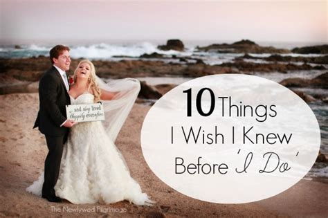 Wedding Things by Wedding Planning 10 Things I Wish I Knew Before I Do