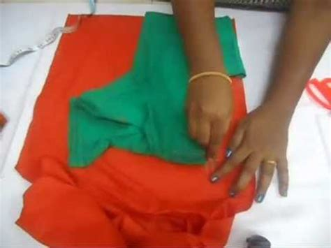 plazo cutting step by step in hindi simple blouse cutting and stitching in hindi doovi