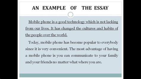 Advantages Of Cell Phones Essay by The Advantages And The Disadvantages Of Mobile Phones
