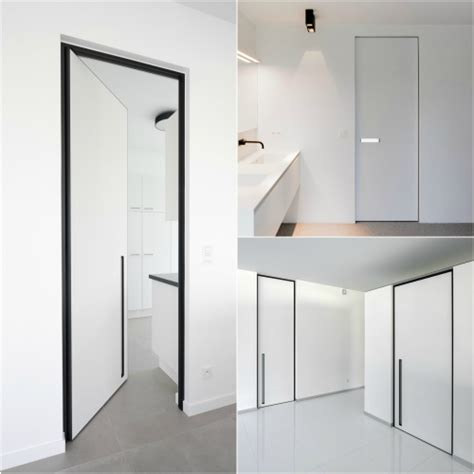 Pivot Hinges For Closet Doors by Modern Interior Doors With Fully Concealed Pivot Hinges