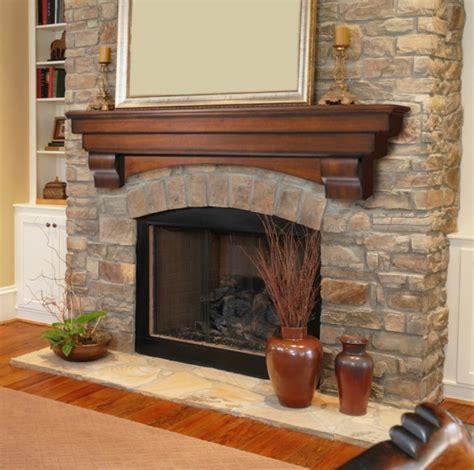 Stone Fireplace Decor le pierre et d 233 co original pour l int 233 rieur archzine fr