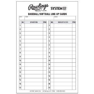 lineup cards for baseball template line up card baseball baseball lineup cards guest book