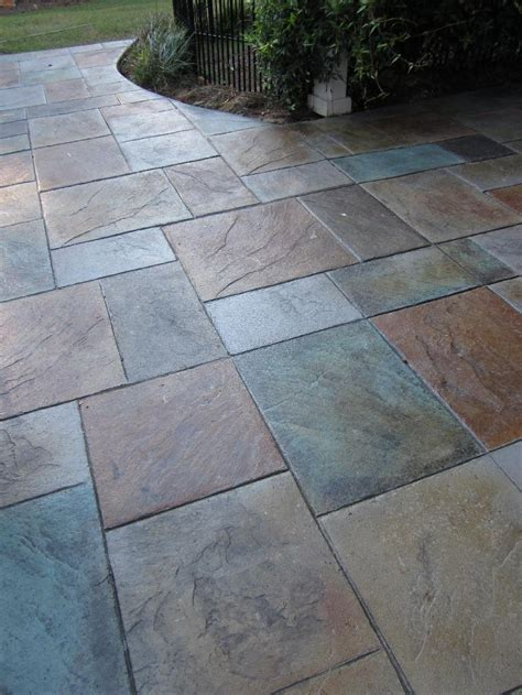 Sted Concrete Patio Designs Colored Sted Concrete Concrete Designs For Patios