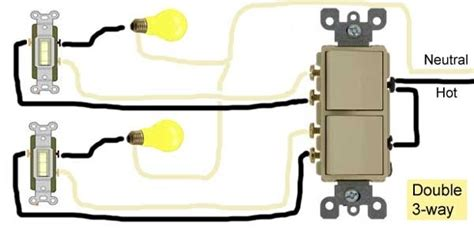 how to wire switches throughout 2 pole toggle switch