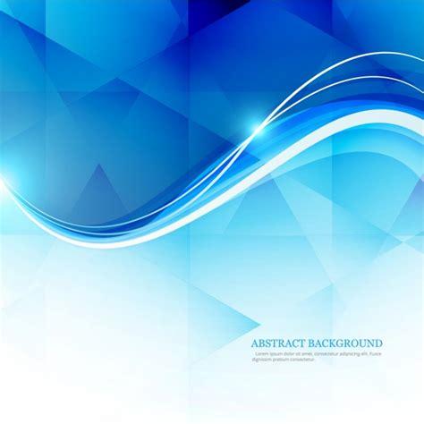 vector wallpaper biru muda fondo poligonal con olas brillantes descargar vectores