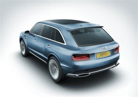 bentley exp 9 f bentley reveals exp 9 f a luxury performace suv