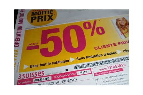 coupon 3 suisses prive