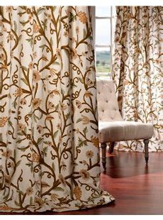 half price curtains coupons 1000 images about crewel embroidered curtains on