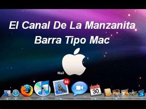 cambiar barra superior mac nexus setup barra de tareas tipo mac para windows 10 8 7