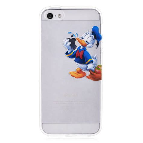Donald Duck Yellow Iphone 4 4s Casing Cover Hardcase donald duck transparent for iphone 5 from bestcellgear llc