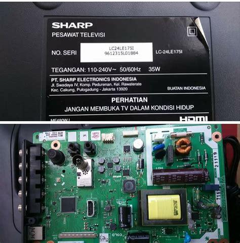 Tv Sharp Lc 24le175i sharp lc 24le175i firmware flash dump w25q64bv bin firmware bin file romflasher