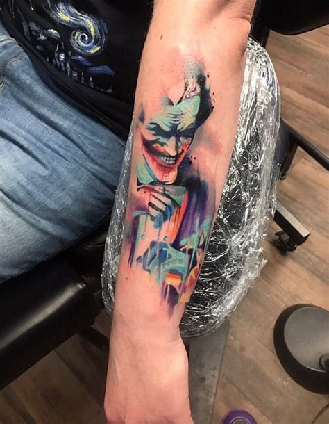 watercolor tattoo joker best 25 joker tattoos ideas on jared leto