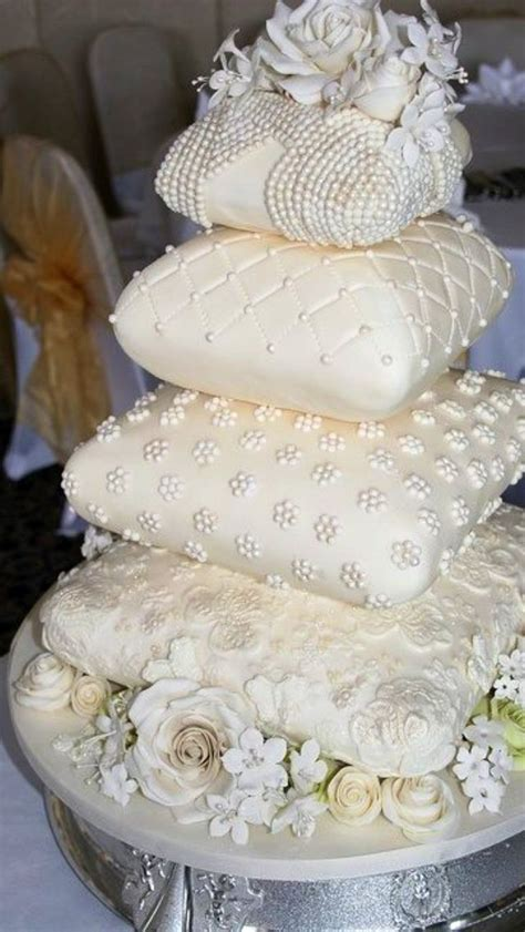 Pillow Cake by Pillow Wedding Cake Cake