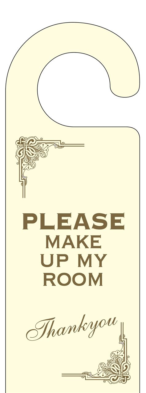 build my room art deco please make up my room door hanger