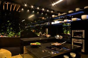 chef s kitchen and lounge for boa mesa exhibit by