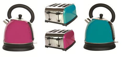 Funky Kettle And Toaster Sets Teal Kitchen The Treasure Hunter Well Designed Quirky