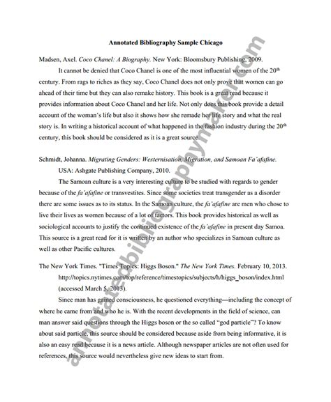 how to write a chicago style research paper get a chicago style annotated bibliography