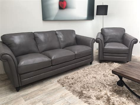 natuzzi grey leather sofa natuzzi editions riccardo b977 3 seater chair grey