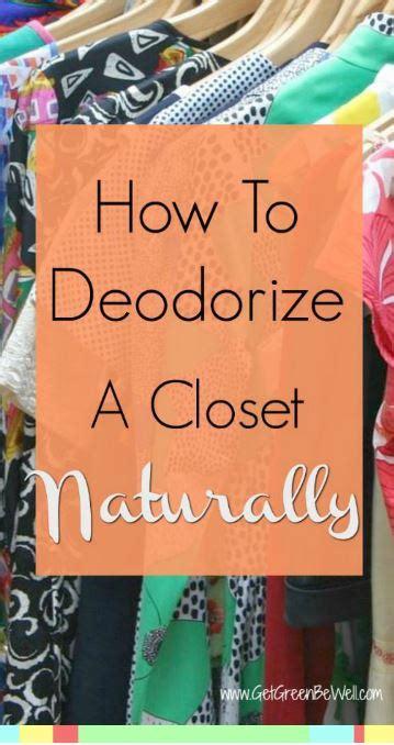 ways  deodorize  closet naturally  green