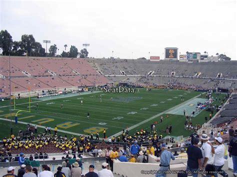 rose bowl section 9 ucla football rose bowl stadium section 14