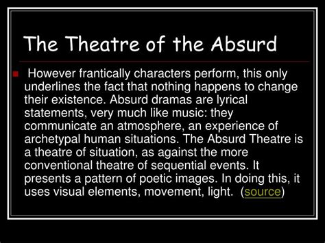 Absurd Theatre Waiting For Godot Essay by Ppt Waiting For Godot Powerpoint Presentation Id 3393596