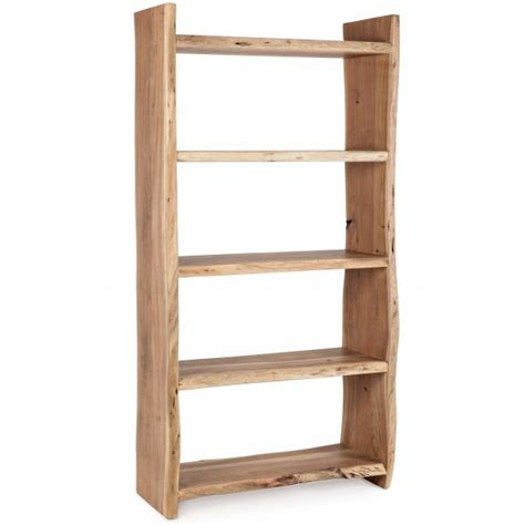 libreria legno naturale libreria naturale legno di acacia librerie etniche orientali