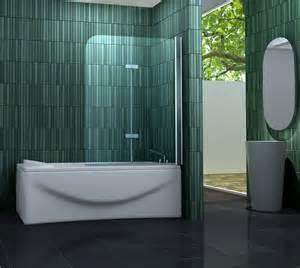 glas duschwand badewanne 120 x 140 badewannen faltwand 2 tlg duschwand