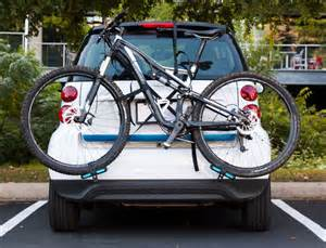 develops portable bike rack that fits smart