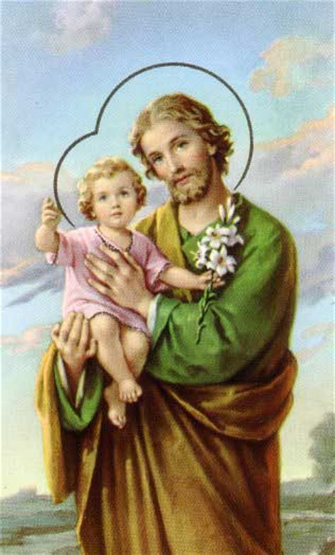 st joseph husband of the blessed and of