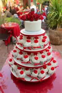 Restaurant El Patio Wedding Cupcake Tower At The El Zocalo Mexican Grill In
